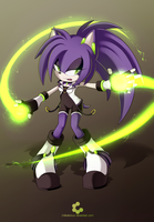CE: Ciara the Hedgehog by Chiikalicious