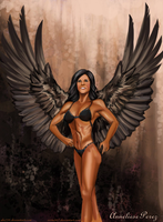 Wings Of The Eagle On Anneliese Perez By alx234 by zenx007
