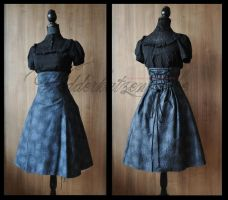 Elegant Lolita Dress. I by chac-chac