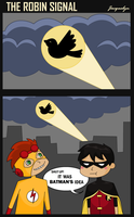 The Robin Signal by Jackie-lyn