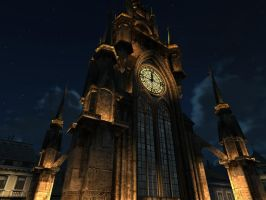 clock tower 4 by indigodeep