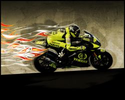 rossi 2007 wallpaper by Valentinos-46
