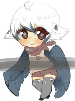 Harpy Adopt:closed by Pomfron