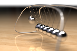 New Newtons Cradle by Zortje