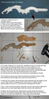 Worbla on Pepakura Tutorial by Nephtis