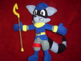 SLY COOPER PLUSH by Victim-RED