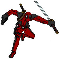 deadpool by OniPunisher