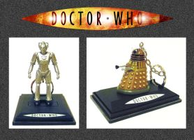 Doctor Who - Key Rings by mikedaws