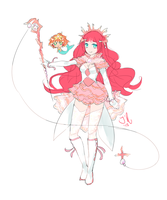 Concept: Magical Girl of the Sea by JollyRose