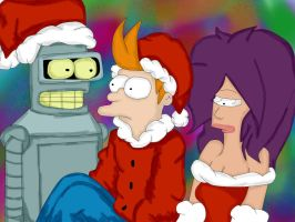 Futurama Christmas. by Phil-j-fry