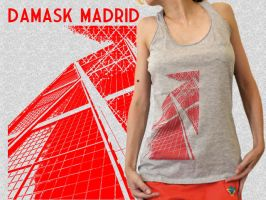 Damask madrid tank top by Serensdipity