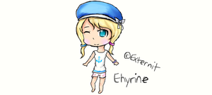 {Ehyrine} Contest Prize (Drawing) by Externity