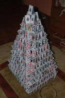 Playing Card Castle by cal3star