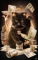 Fortune Cash Cat by maximegirault
