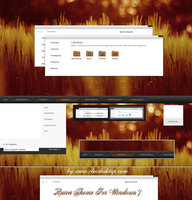 Ruiva Theme for Windows 7 by cu88