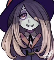 Little Witch Academia - Suzy! by AnamNesisX