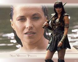 Xena Wallpaper 02 by Gennco