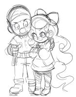 RQ Sketch: Felix and VanilliaFI by ManiacPaint