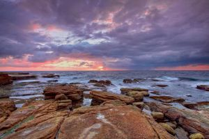 Maroubra Sunrise by MarkLucey