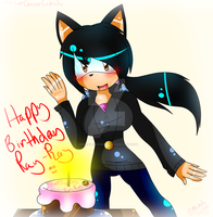 Happy Birthday Ray Ray!!!!! :'D by Undead-Dreamsx