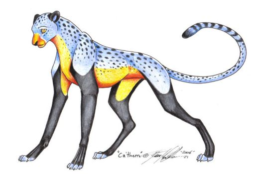 CaThemCheetah by moonfeather