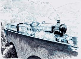 HOGWARTS EXPRESS by Jerome-K-Moore