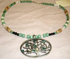 Tree of Life Necklace by SacredJourneyDesigns