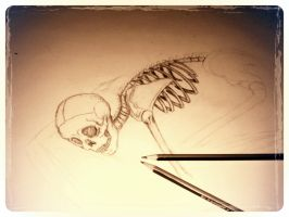 Skeleton project part 1 by blackheartedlove
