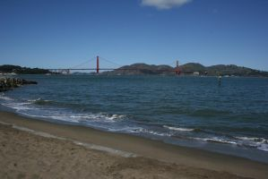 View from San Francisco Bay Trail by Dr-J-Zoidberg