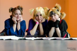 3 Temari - 3 Friends by Temari-ore-no-yume