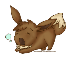 Eevee Chibi by PuccaNoodles2009