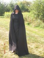 Black Dress and Cloak 2 by sd-stock