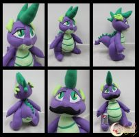 Spike MLP Plushie V.1 by NsomniacArtist