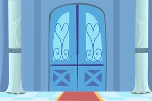 Cadence's Entrance Door by BakaBrony