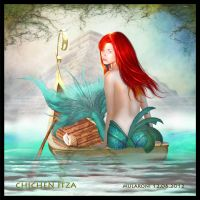 CHICHEN ITZA MYSTIC MERMAID by PikNicx