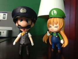 Nendoroids: The awkward cross dressing. by Aurelio251
