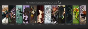 Chalu's Summary Art Meme 2014 by Chaluny