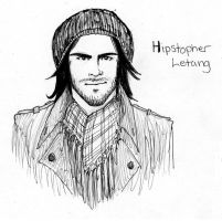 Hipstopher Letang by zombiepencil