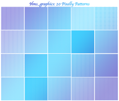 20 100x100 Pixelly Patterns by graphicdump
