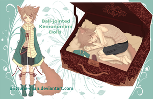 [CLOSED] Adopt BJD Kemonomimi Doll #1 by Aritsune-chan