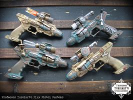 Flux Pistols Customs by tursiart