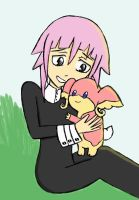 Crona and Audino by applezaira