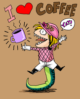 JoJo - I LOVE COFFEE by FerioWind