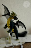 dragon art doll commission by hikigane