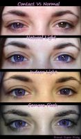 Super Pinky Violet Contacts by CCCosplayers