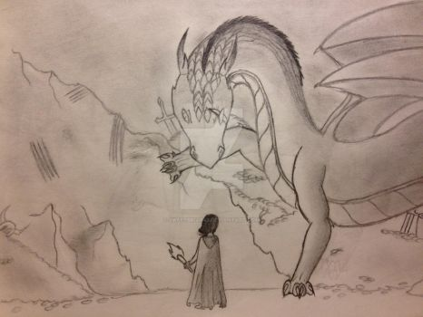 Meeting of the dragon by Sweetbriar42