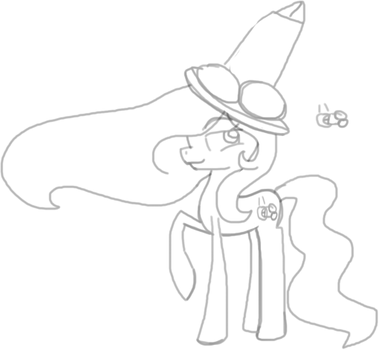 AJ and her penis hat by puddycat431
