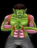 The Anime Avengers-Piccolo as The Hulk by mosobot64