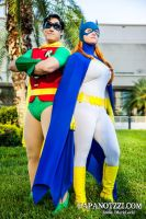 Classic Robin and Batgirl by ComicChic19