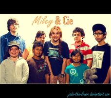 Miley and Cie by Jade-the-lover